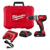 Milwaukee Cordless Drill/Driver Kit