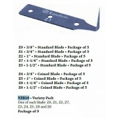 """Z Blade, 3/4"""" Coined"""