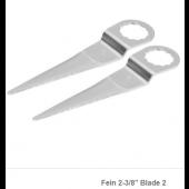"""Fein 2-3/8"""" blade Pkg. of 2 / FTB216"""