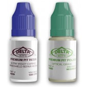Delta Kits Premium Pit Resin & Polish Combo-7 ml ea
